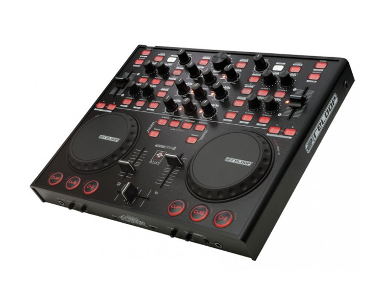 table de mixage usb controller. Black Bedroom Furniture Sets. Home Design Ideas